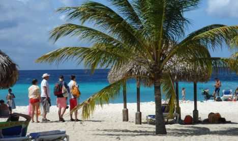 BonBini Beach, Curacao, Niederländische Antillen
