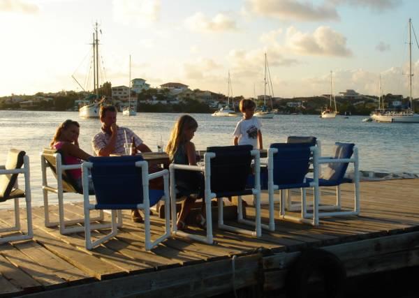 Schwimmendes Restaurant Sarifundi, Spaanse Water, Niederländische Antillen